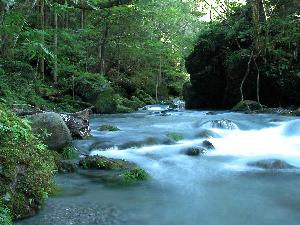安谷川渓谷