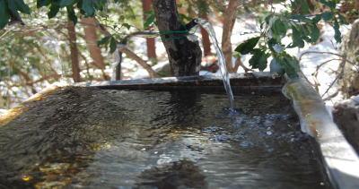 和名倉山からの水