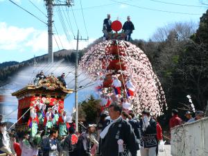 山田春祭り
