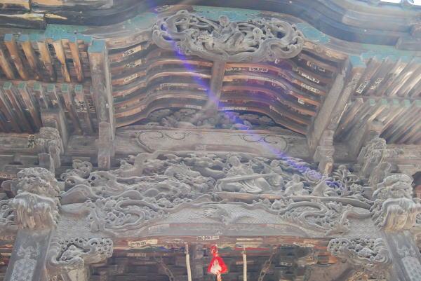 札所13番の彫刻