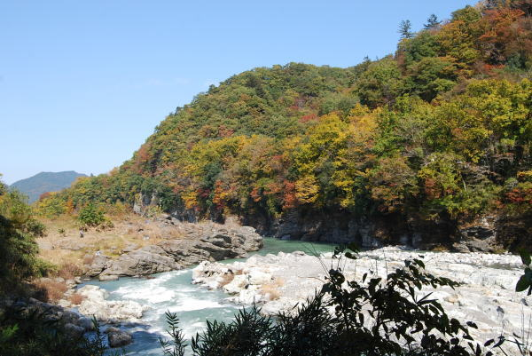 岩畳周辺の紅葉