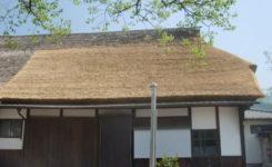 茅葺き屋根補修工事