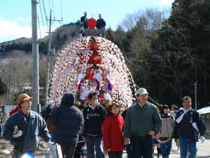 山田の春祭り