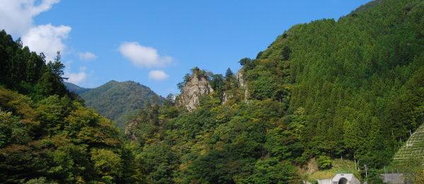 中津渓谷紅葉