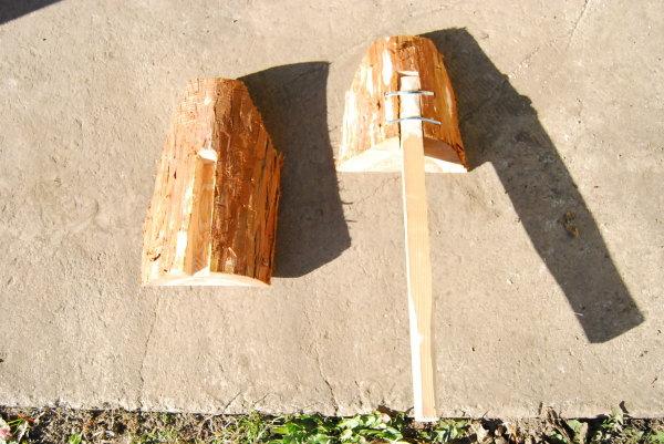 茅葺屋根の道具
