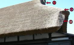 茅葺屋根の作り方
